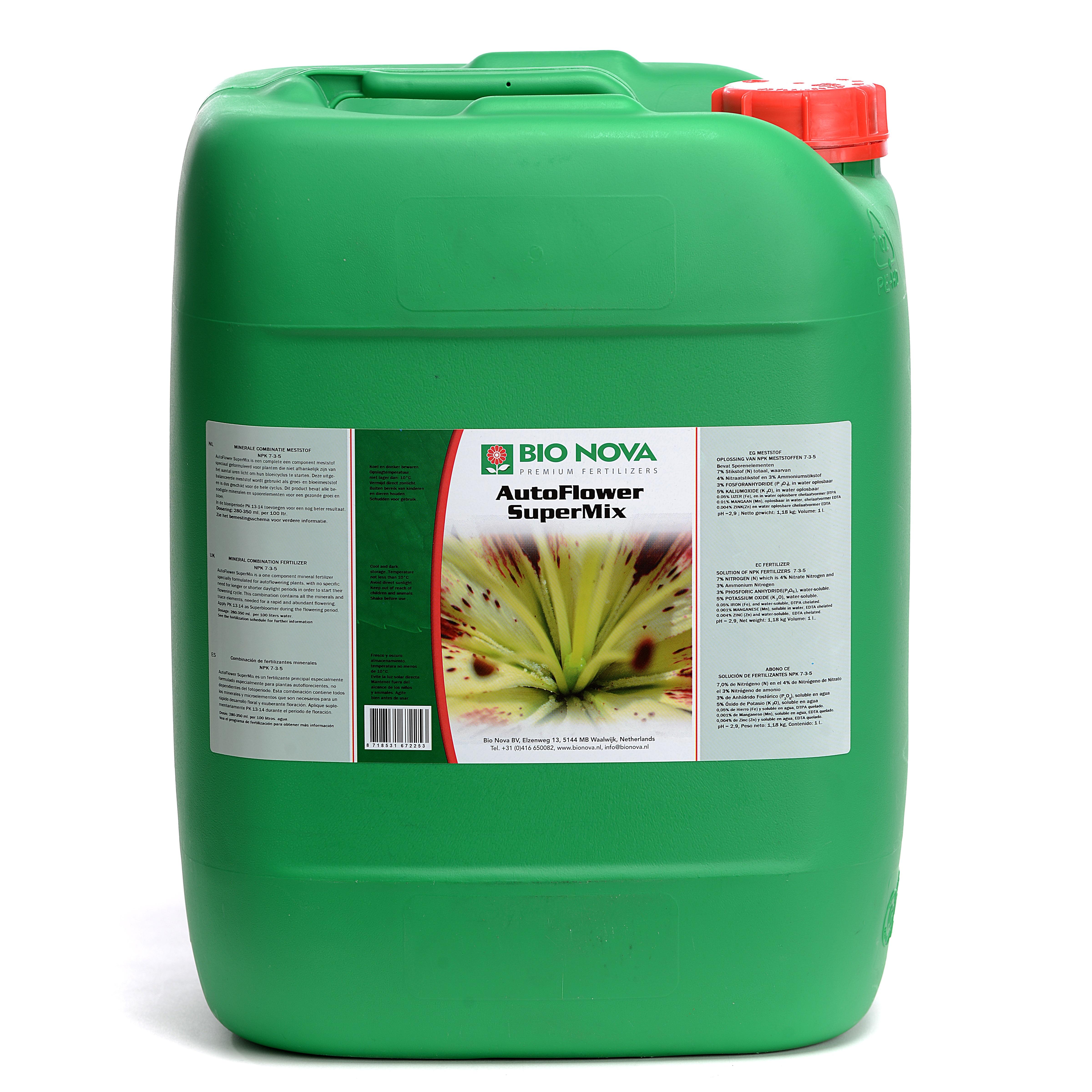 Bio Nova BN NFT Aqua SuperMix 20 Liter