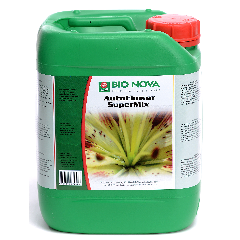 Bio Nova BN AutoFlower SuperMix 5 Liter
