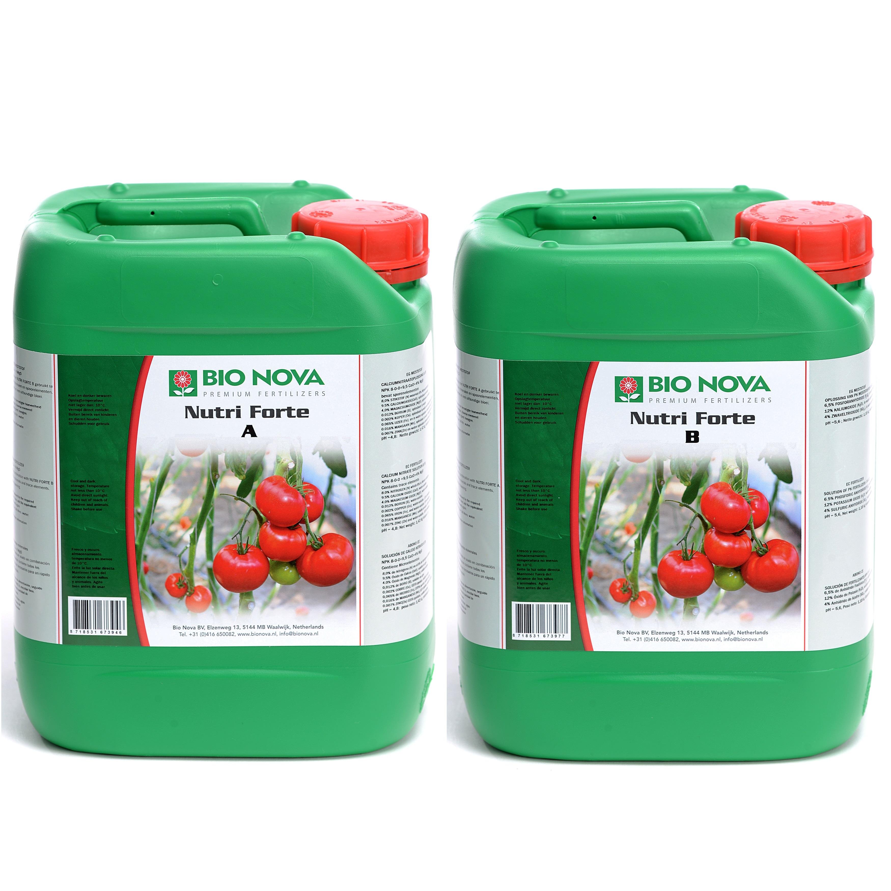 Bio Nova BN Nutri Forte A+B Hydro 5 Liter