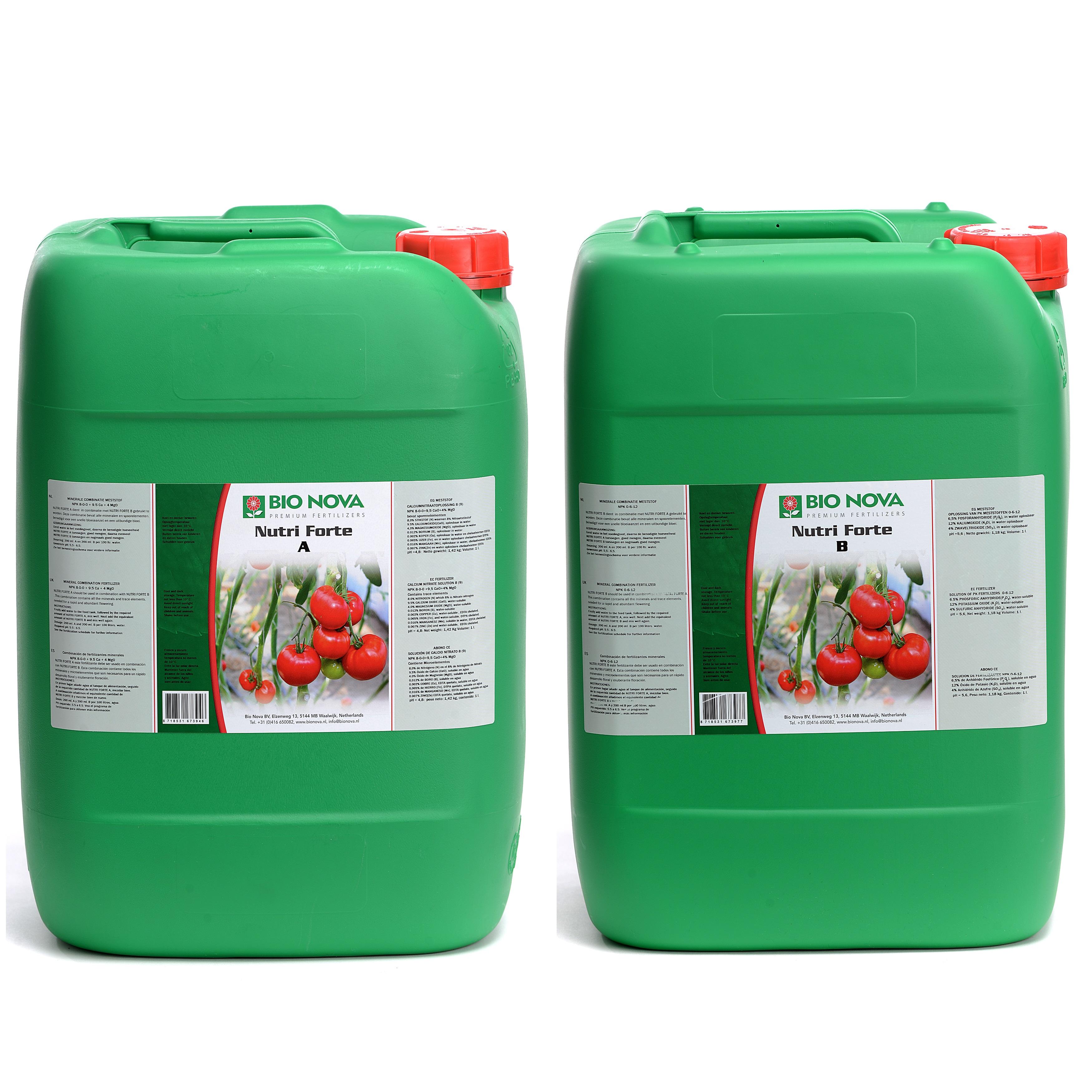 Bio Nova BN Nutri Forte A+B Hydro 20 Liter