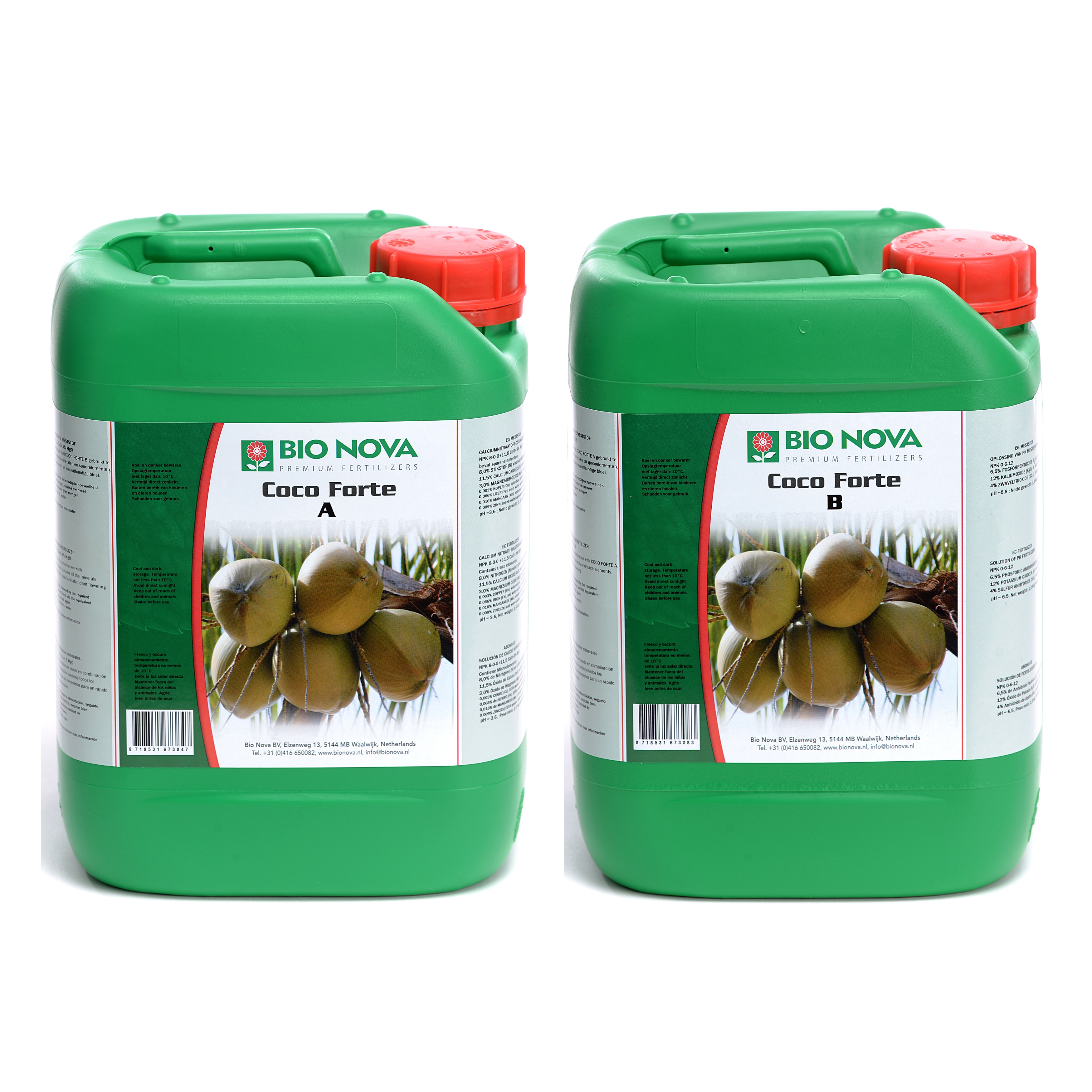 Bio Nova BN Coco Forte A+B Coco 5 Liter