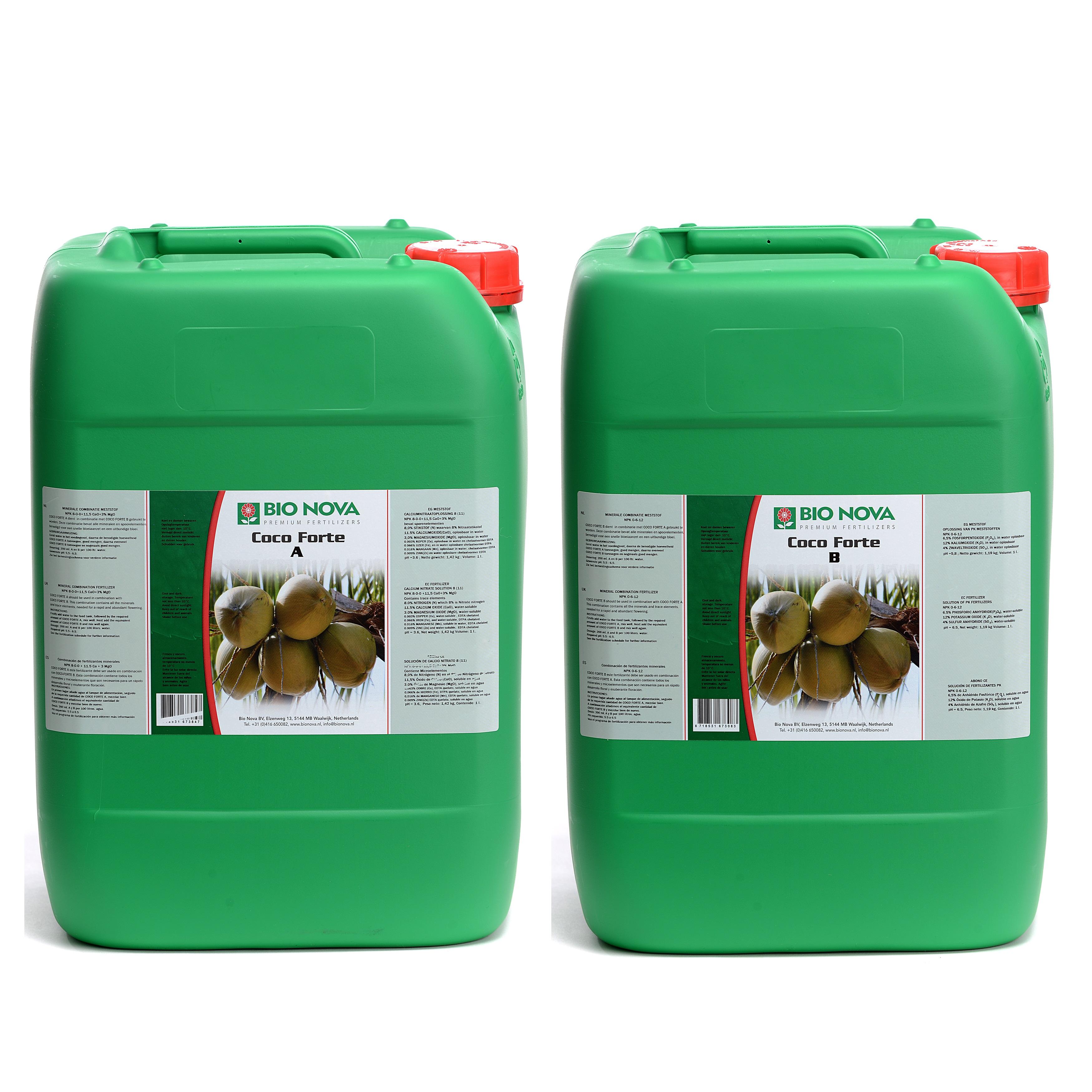 Bio Nova BN Coco Forte A+B Coco 20 Liter