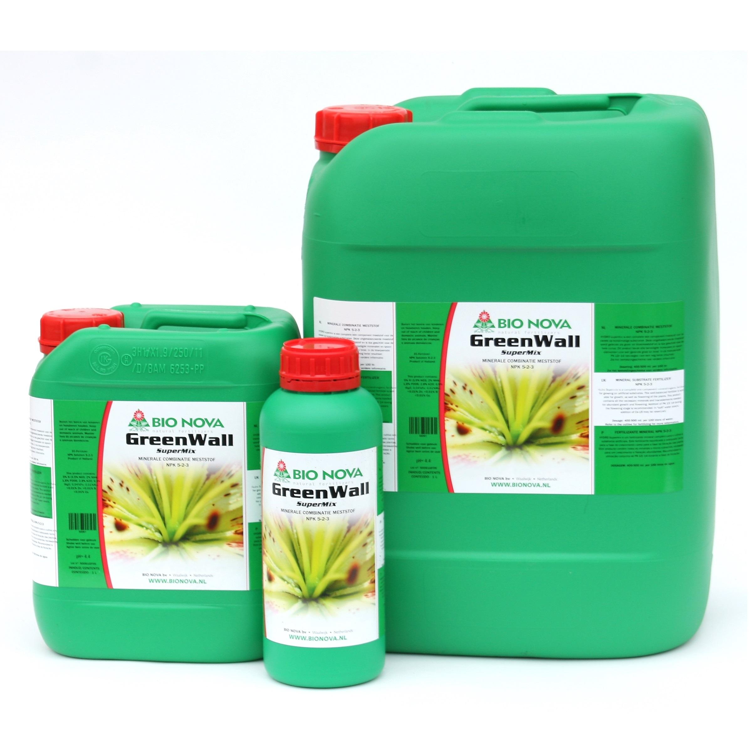 Bio Nova BN GreenWall SuperMix 5 Liter