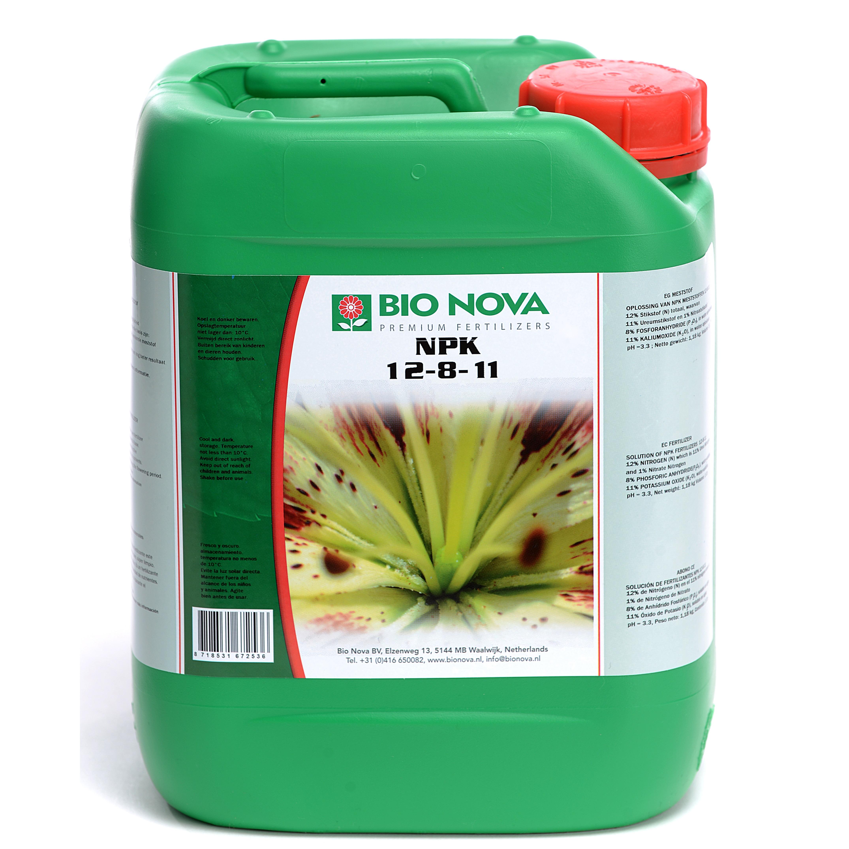 Bio Nova BN NPK 12-8-11 5 Liter