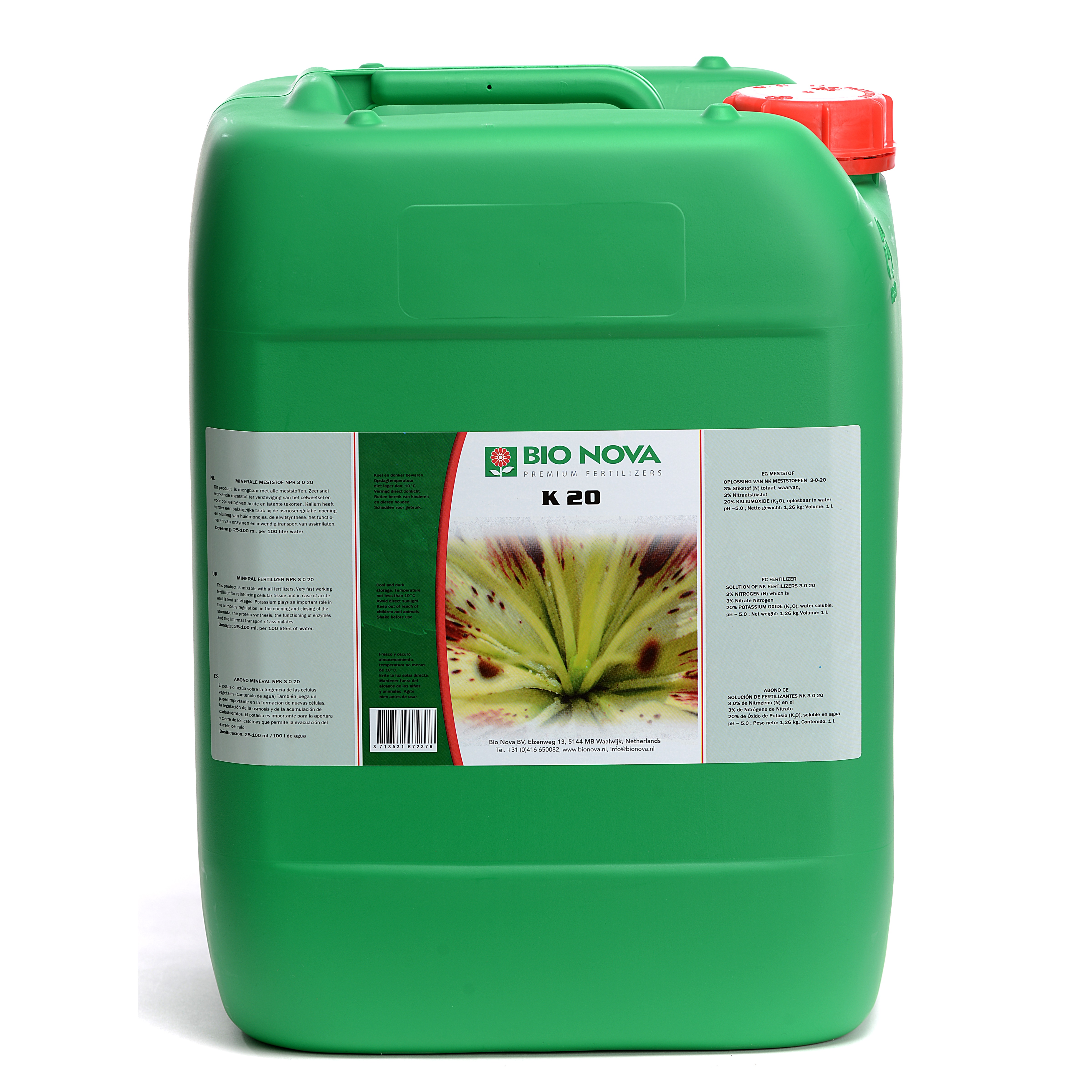 Bio Nova BN K 20 20 Liter