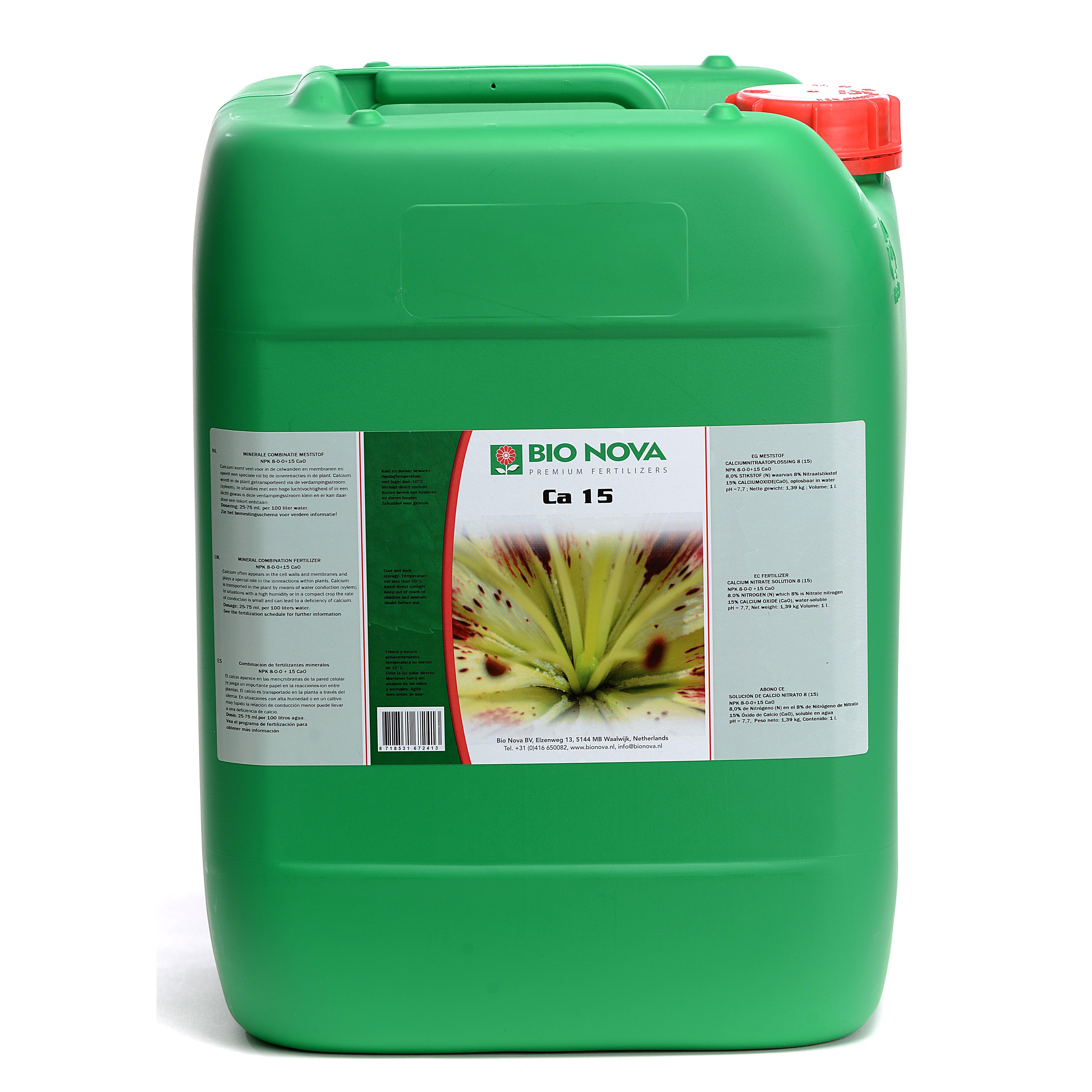 Bio Nova BN Ca 15 20 Liter