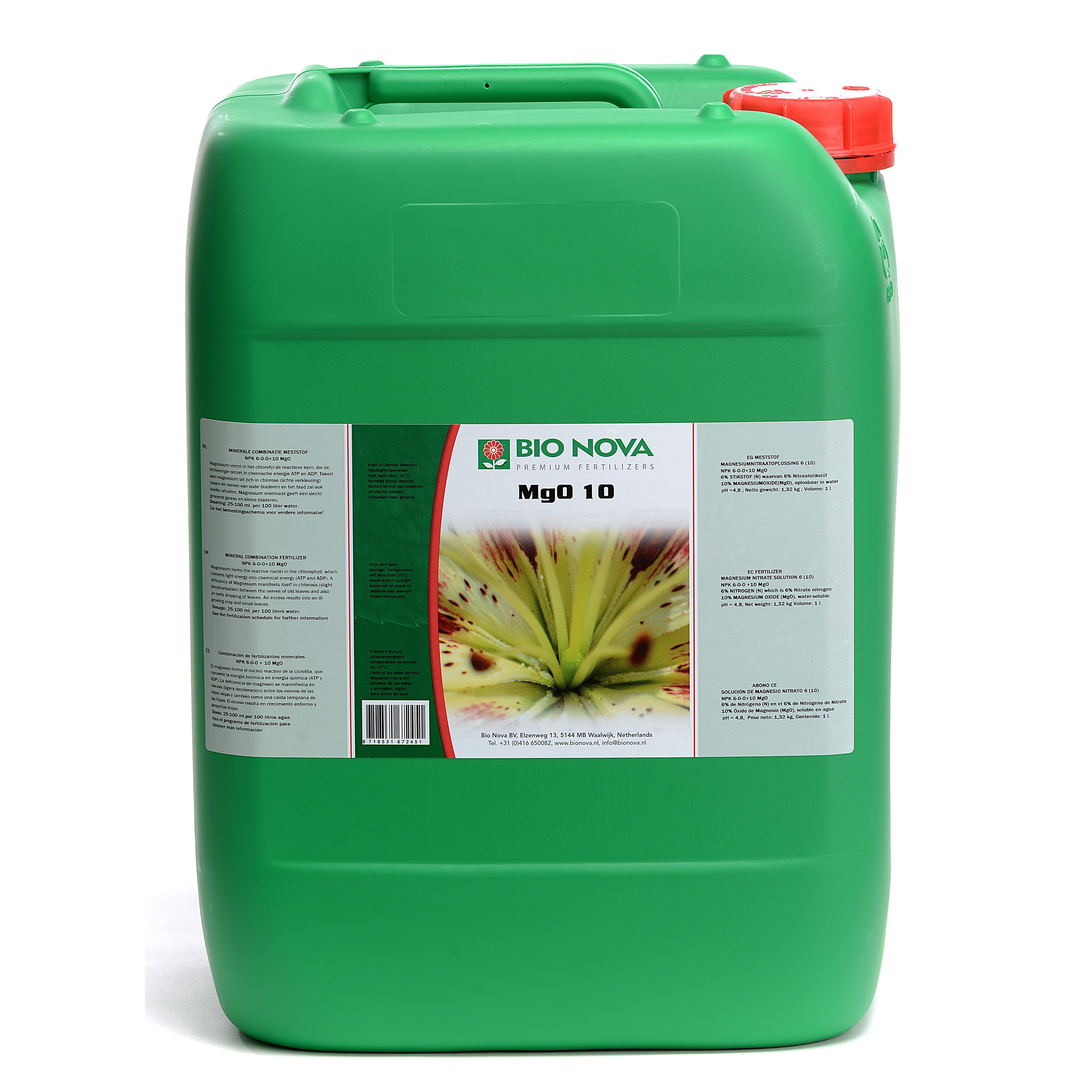 Bio Nova BN MgO 10 20 Liter