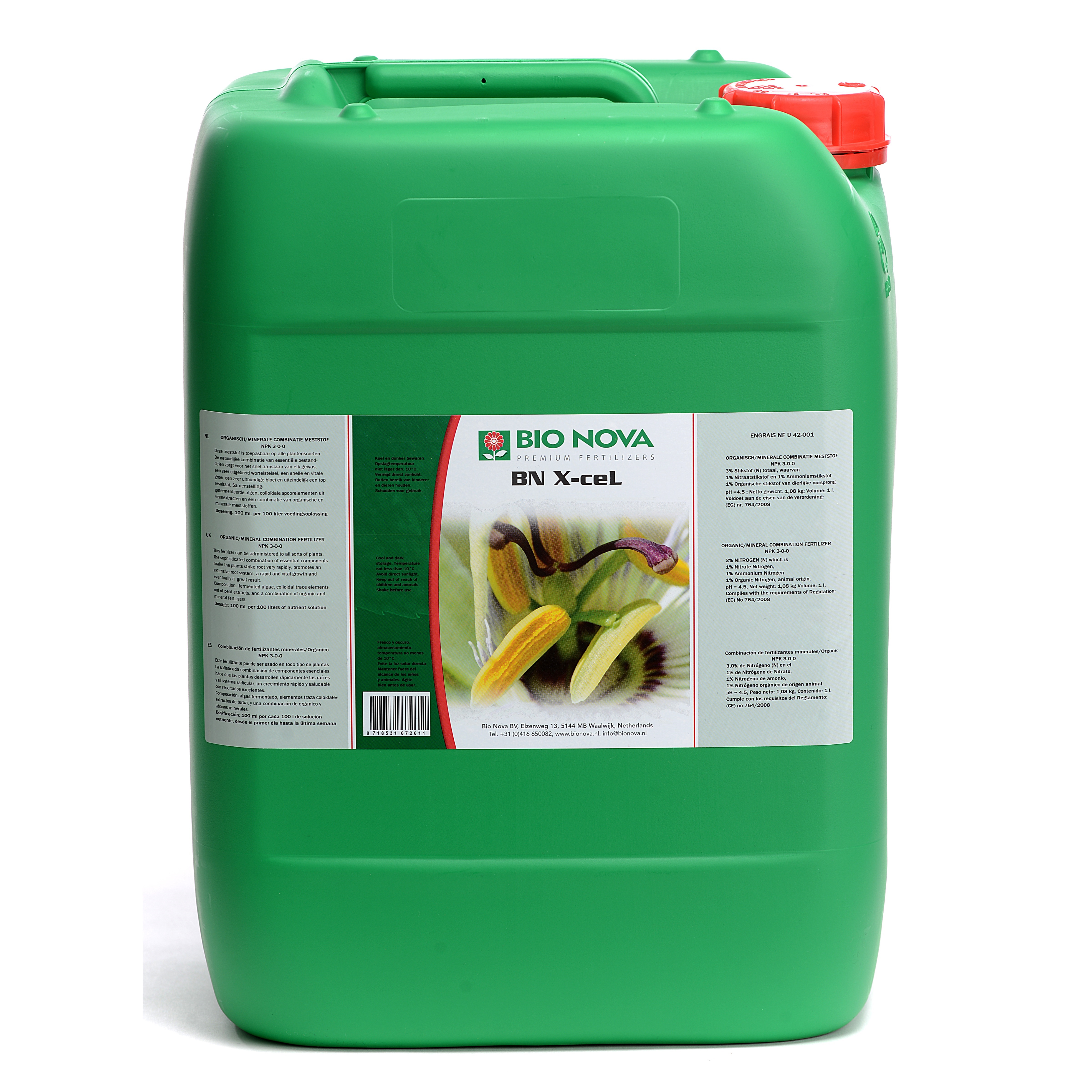 Bio Nova BN X CeL 20 Liter